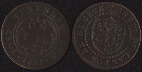 Женева 1 соль 1817
