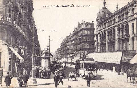 Марсель, фотография 1910 года